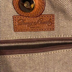 Dooney & Bourke Bags - Brown Suede Dooney & Bourke purse excellent cond.
